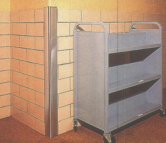Aluminium Corner Guards : Metal corner guards wallandcornerguard